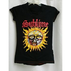 Tops - SOLD sublime band tee